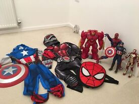 Avengers Interactive Toy bundle and dress up