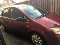 Ford Focus C-Max spares or repairs