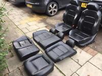 Seat leon cuppa turbo full leather interior,£150