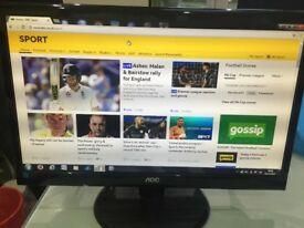 AOC 22 inch Excellent condition FULL HD 1080 Monitor