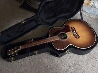 Gibson SJ-100 2016 Walnut [Hairline crack on side]