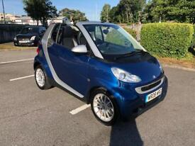 SMART FORTWO PASSION CABRIOLET ONLY 16,600 MILES