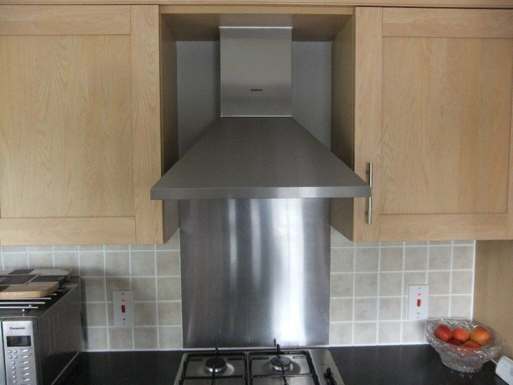 Siemens Kitchen Oven Extractor Fan And Carbon Filter In
