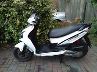 2014 SYM JET 4 125cc automatic scooter, new 1 year MOT, very good runner, cheap insurance, 125 ...