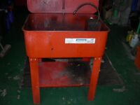 Sealey parts washer,needs a clean,but motor is working,