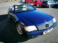 Mercedes msl 320 auto convertible
