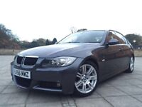 2006 56 BMW 320D M SPORT AUTO FULL BMW HISTORY 1 DR OWNER FROM NEW!