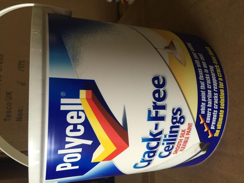 Polycell Crack-Free Ceiling paint 2.5L