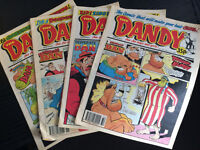 Assorted Comic Books - Dandy, DC, Marvel and a couple of Viz books also.