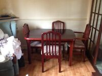 Dining Table & 6 Chairs
