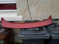 Rover 75 boot spoiler