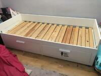 A GREAT QUALITY IKEA KIDS PULL OUT TRUNDLE BED IN GOOD USED CONDITION FREE DELIVERY