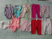 Girl clothes from 6 month till 9 month