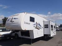 2006 forest-river Wildcat One Slide Out F27 27ft Fifth Wheel Tra