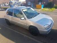 Citreon Saxo 2002 open to offers