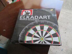 Vintage Dart Board - New still in original box - Elkadart