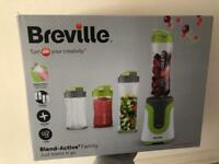 New Breville active with 4 bottles