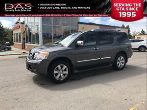 2011 Nissan Armada PLATINUM NAVIGATION/TV-DVD/SUNROOF
