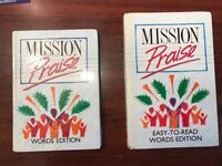 Mission Praise Combined word Edition 88 books