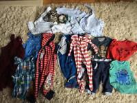 Bundle of boys 12-18 months clothes