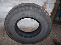 Land Rover tyres 7.50 X16 part worn