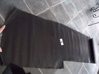 """Large Piece Vintage Leatherette? (40+ Years) - Approx 52""""x 15"""" (Piece No. 4) - Viewing Welcome"""