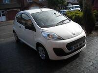 2014 Peugeot 107 17kmiles £4500