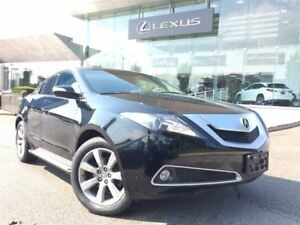 2010 Acura ZDX 1 Owner Low KM Backup Cam Heated Seats Sunroof