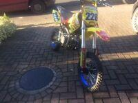 Stomp 160cc pit bike £450