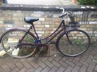 Vintage city bike