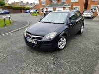 56 vauxhall astra 1.7 cdti club in black excellent driver no warning lights 12 mths mot
