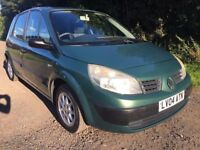 2004 RENAULT SCENIC 1.4 AUTHENTIQUE 5DR MPV NEW SHAPE NEW M.O.T ON SALE