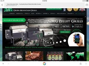 GREEN MOUNTAIN GRILL PELLET BBQs