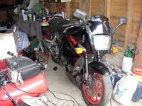 Classic Kawasaki GPX600R abandoned project GPX 600r not GPZ