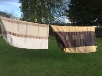 2 X KING SIZE QUILT COVERS AND PILLOWCASES IMMACULATE CLEAN CONDITION. Sold as a bundle thanks.