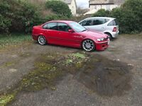 BMW E46 320D Msport Imola Red 6 speed manual