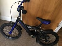 BLUE BOYS BIKE AGE 4-7 :)