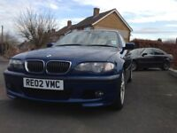 BMW 330D M sport automatic saloon for sale 2002