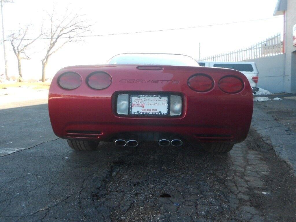 2000 Red Chevrolet Corvette Coupe    C5 Corvette Photo 5