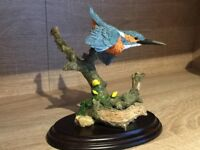 Country artists kingfisher ornament