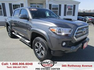 2016 Toyota Tacoma TRD Sport V6 with Sunroof $294.84 BI WEEKLY!!