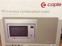Caple inbuilt combination microwave, stainless steel