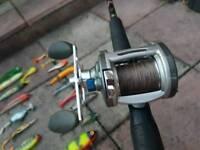 Pike fishing set up