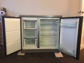 Zanussi under counter combined fridge freezer, used