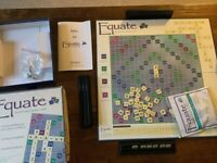 Equate Board Game - Excellent Condition