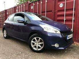 image for Peugeot 208 2014 1.2 Petrol Year Mot No Advisorys Cheap To Run And Insure £20 Road Tax !