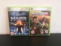 Mass Effect 1/2 - Xbox 360