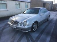 MERCEDES BENZ CLK230 KOMPRESSOR SERVICE HISTORY CHEAP CAR PX WELCOME £525