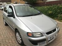 Mitsubishi Space Star Mirage DI-D 1870cc Turbo Diesel 5 speed manual 5 door hatchback 02 Plate 2002