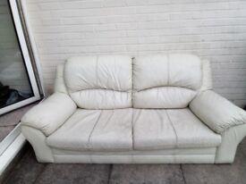 Cream Sofa's